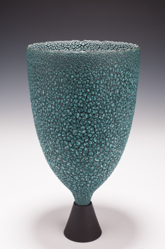 """Chalice by Mary Fox, 11 3/4"""" Tall"""