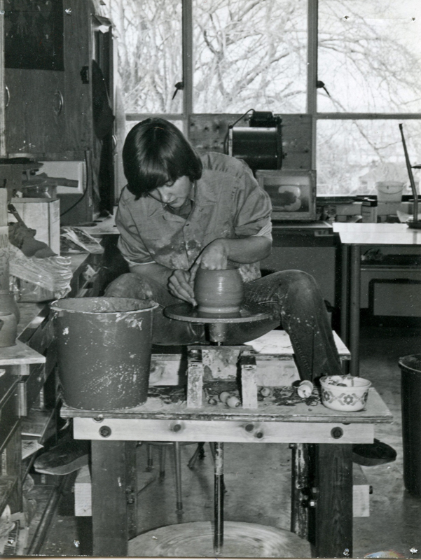 Mary Fox, grade 10 at Central Jr High school, Victoria BC 1975
