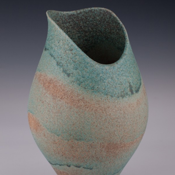 """Altered Vessel by Mary Fox : 11 1/4"""" T x 7 """" W"""