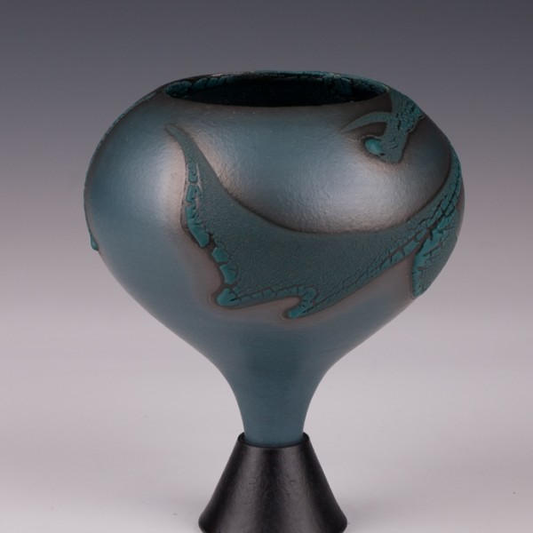 "Wee Chalice by Mary Fox:6 3/4"" T"