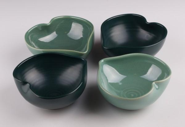 Green Heart Bowls