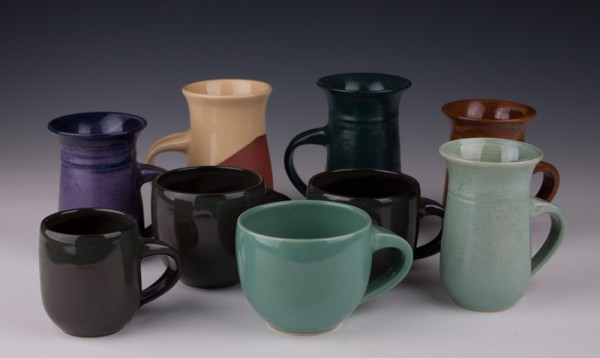 Mugs by Mary Fox