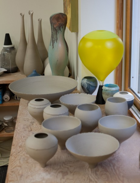Wee Chalices drying