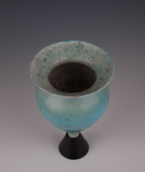 """Wee Chalice by Mary Fox 8"""" T x 5"""" W"""