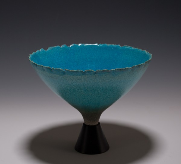 """Wee Chalice by Mary Fox 7 1/4"""" W x 6"""" T"""