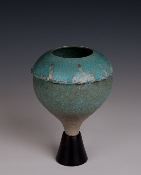 """Wee Chalice by Mary Fox 6 3/4 T x 5"""" W"""